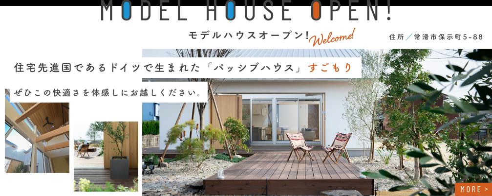 モデルハウスOPEN 住宅先進国であるドイツで生まれた「パッシブハウス」すごもり
